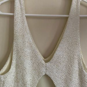 Urban Outfitters Dresses - UO White Sparkle Short Party Dress